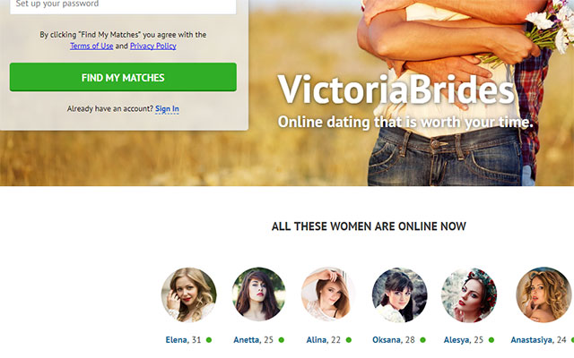 Victoriabrides – Efficient dating service online